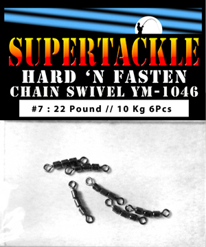 Supertackle chain swivel 22 pound
