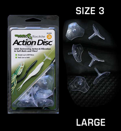 WiggleFin Action Disc Size 3